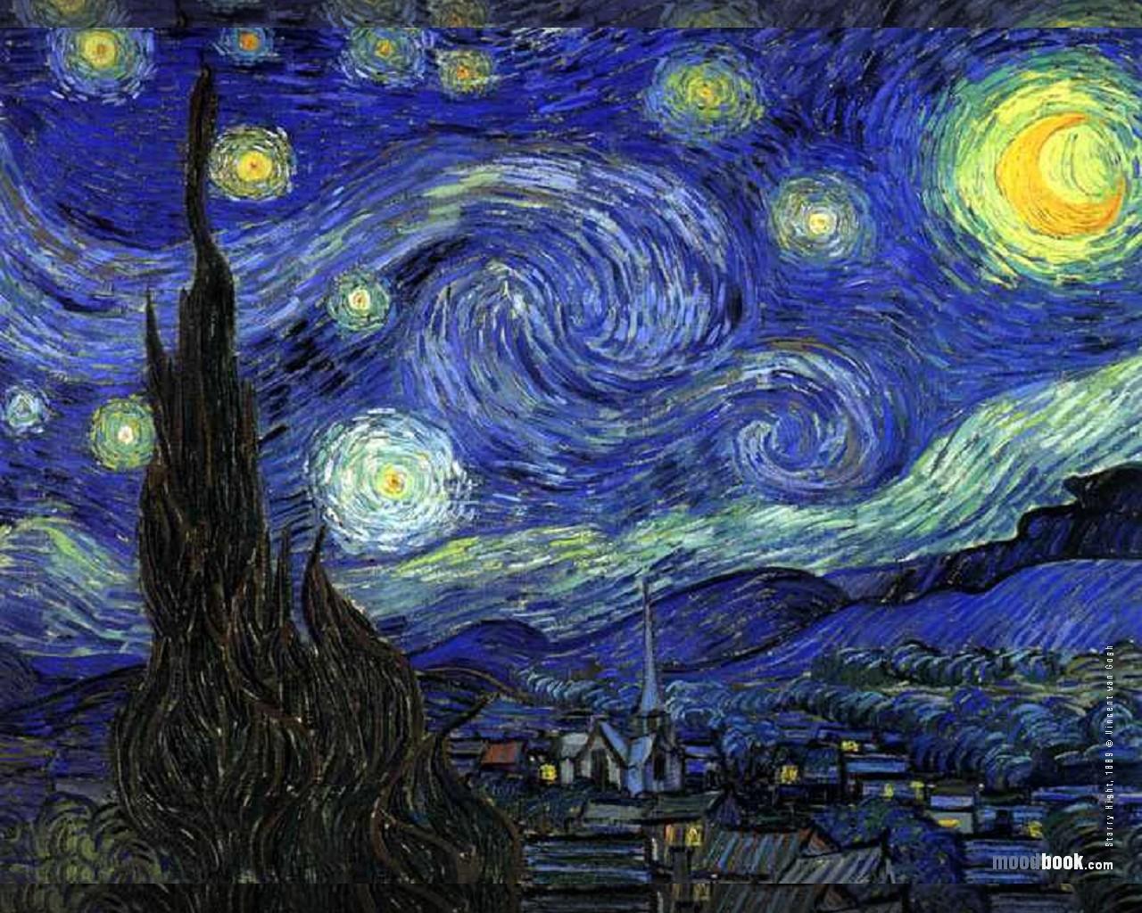 Vincent van gogh wallpaper starry night fra angelico institute for the sacred arts - Vincent van gogh wallpaper ...