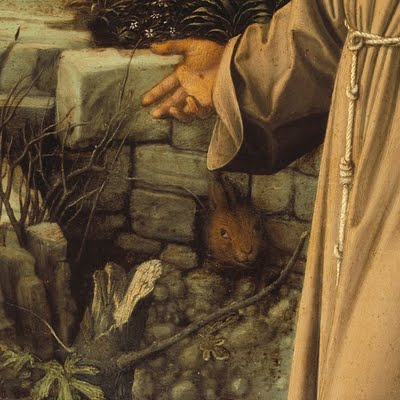 hand of st francis bellini