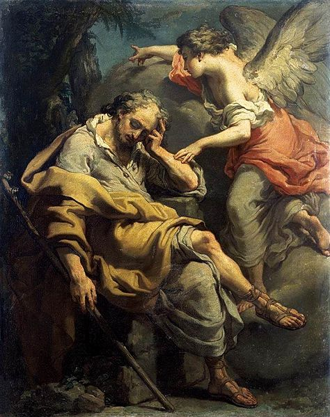 474px-'Joseph's_Dream',_painting_by_Gaetano_Gandolfi,_c._1790