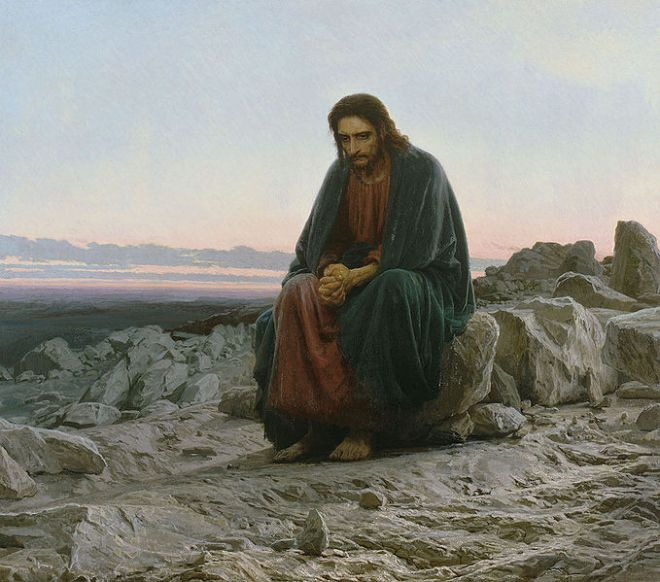 **679px-Kramskoi_Christ_dans_le_désert
