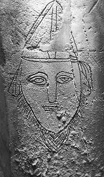 Bishop graffiti