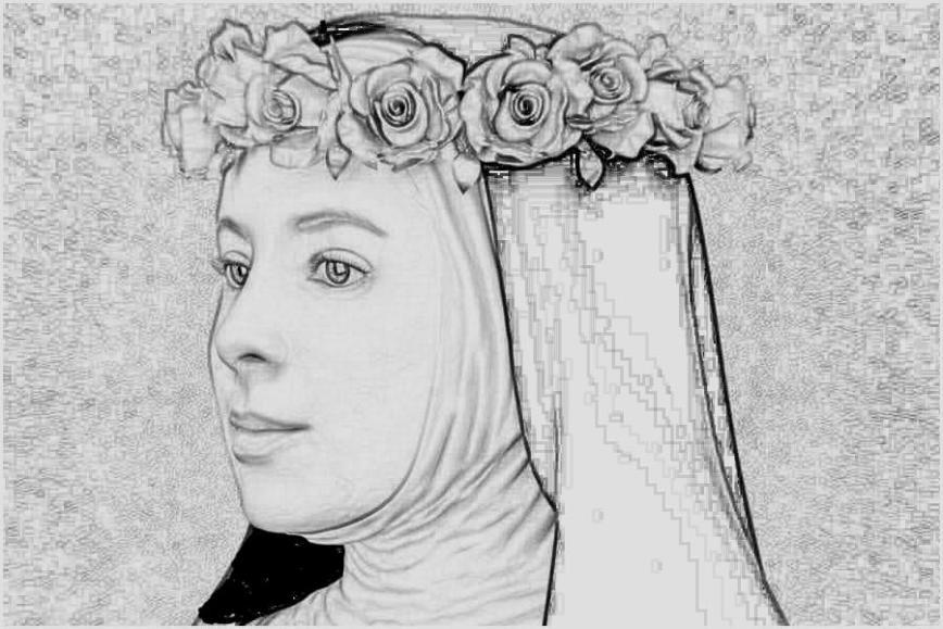 St Rose of Lima 3 PhotSketcher